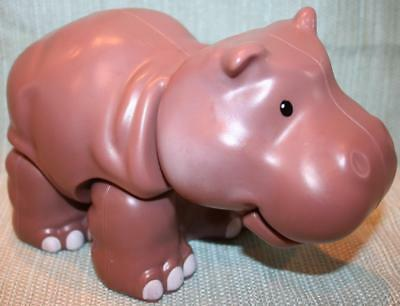 Fisher Price LITTLE PEOPLE HIPPO Large Toy w/ Sounds & Moveable Legs CMP31 2014