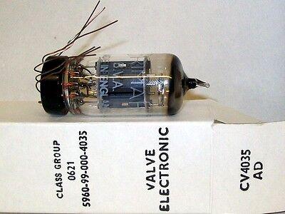 12AX7 ECC83 CV4035 F/ 6057 Brimar Britain Wire Leads Tubes Valves