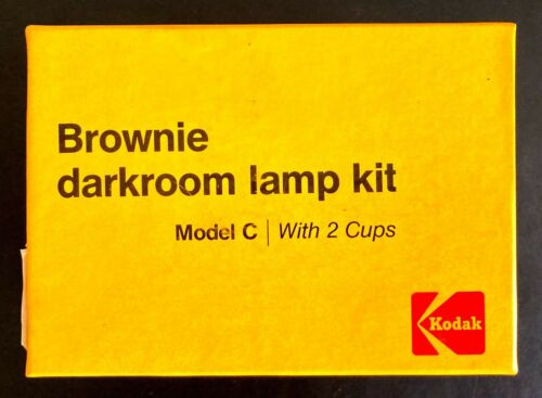 Vintage Brownie Darkroom Lamp Kit- Model C with 2 Cups