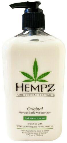 Hempz Organic Hemp ORIGINAL Herbal Body Moisturizer Lotion - 17 Oz