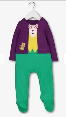Brand new Roald Dahl Willy Wonka All In One 6-9 months  old - 9 Month Old Costumes