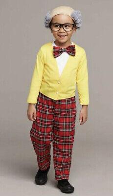Chasing Fireflies Funny Grandpa Boy's Sz 6 100 - Funny Boy Kostüme