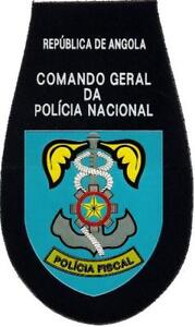 PATCH-POLICE-OF-ANGOLA-TAX-UNITY-FISCAL-EB00759-AFRICAN