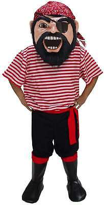 Professional Pirate Costumes (Col. Keel Haul Pirate Professional Quality Lightweight Mascot)