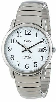 Timex T2H451, Men's Easy Reader Expansion Band Watch, Indiglo, Date
