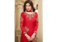 KARMA SOFTY WHOLESALE STRAIGHT LONG SALWAR SUITS