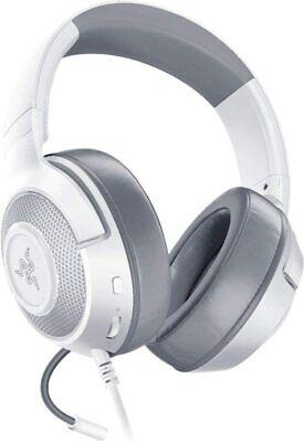 Kraken X MultiPlatform Wired Gaming Headset Mercury White Certified Refurbished