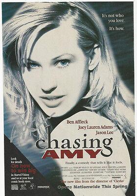 Joey Lauren Adams - Chasing Amy signed flyer