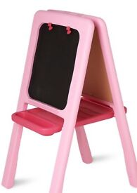 Childs Easel Pink plastic - new in box