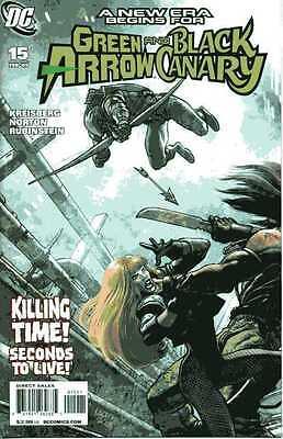 GREEN ARROW BLACK CANARY #15 DC Comics High Grade 1st Print Near Mint 1st CUPID