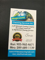 Magicworld Cleaning Services Inc.