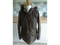 Barbour wax coat size 14