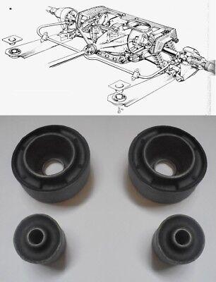 (x4) JAGUAR E Type  XKE      REAR RADIUS ARM BUSHES BUSH SET     (1961- 74)