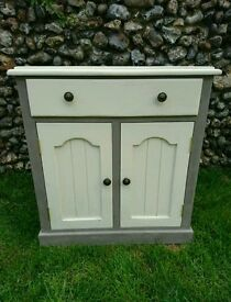 Good Quality Heavy Solid Pine Cabinet