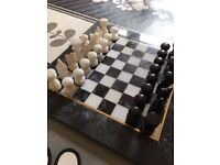 Marble chess set! Beautiful