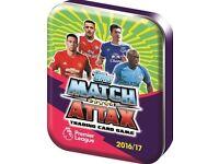 Match Attax swap/sell Premier league 2016/2017