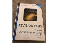 Revision Plus Edexcel GCSE Mathematics for A book