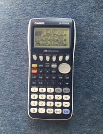 Graphical calculator (Casio fx-9750Gii)