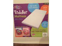 Kids World Toddler Mattress 140 x 70cm Brand New in Box