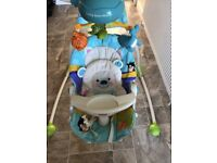Fisher price precious planet open top cradle and swing