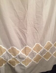 Fabric Shower Curtains- $10 Each