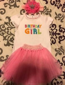 1st Birthday Girl Outfits