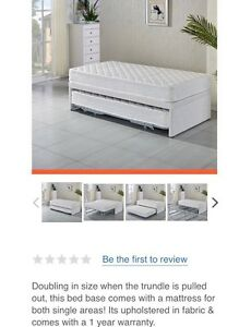Double trundle bed beds gumtree australia free local for Beds joondalup