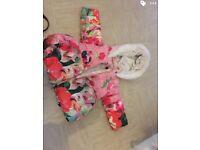Girls ted baker coat 12-18 months