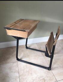 Vintage/retro school desk