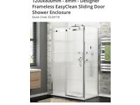 End Panel for shower enclosure