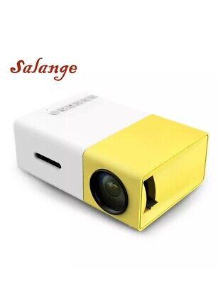 Mini YG300 LCD Projector 50 Lumens 320 x 240 Pixels 3.5mm Audio/HDMI/USB/SD/AV