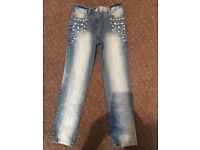 Girls next jeans 7years new without tags