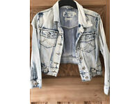 C light denim jacket size 14