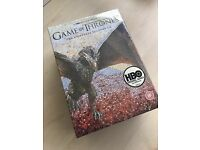 Sealed brand new Game of Thrones boxset season 1-6. £20!!