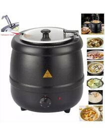 Soup Warmer Urn Kettle 10l for kitchen / commercial use