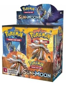 Pokemon Sun and Moon 36 pack booster box (sealed)(Preorder) Nundah Brisbane North East Preview