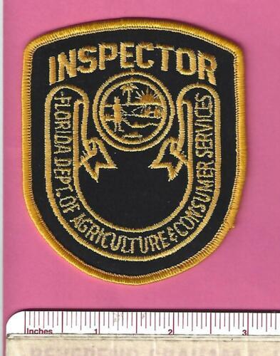 FL Florida Fla State Agriculture Consumer Serv. Inspector Police Shoulder Patch