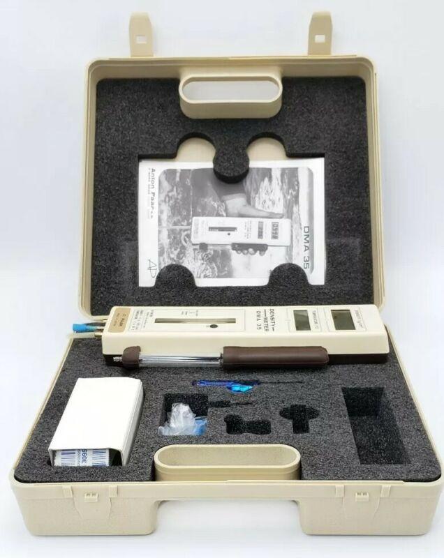 Mettler Anton Paar DMA35 DMA 35 Digital True Density Meter Original Case