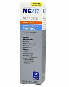 MG217 Medicated Conditioning Coal Tar Formula Shampoo 8 oz