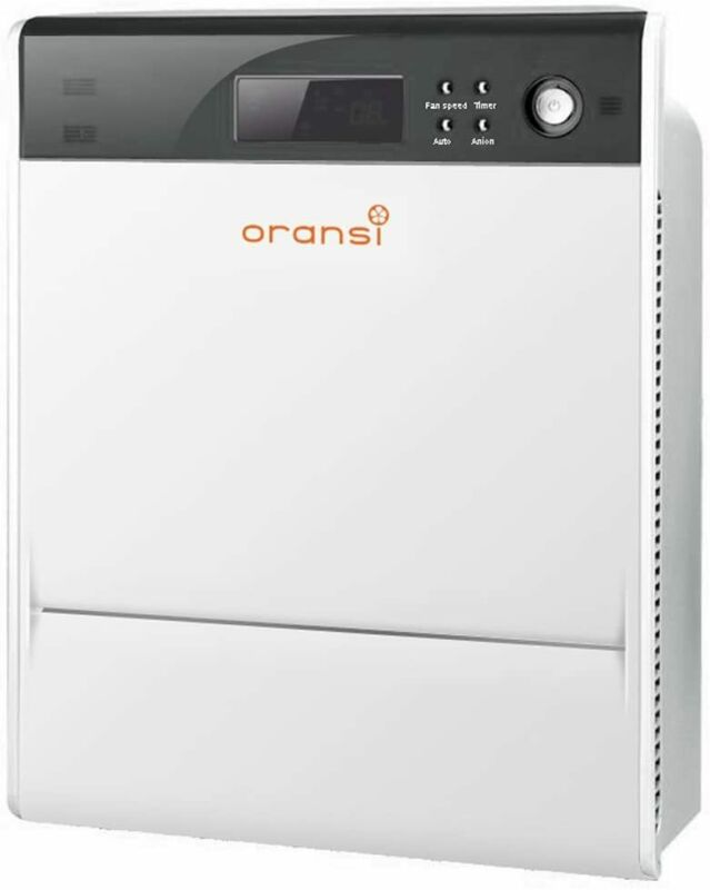 Oransi OVHM80 Max HEPA Large Room Air Purifier Asthma Mold Dust Allergies Filter