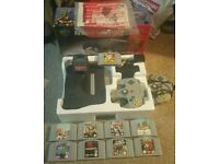 Boxed N64 Nintendo,Games, extra accessories