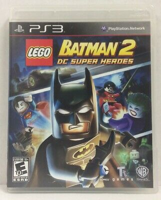 LEGO Batman 2 DC Super Heroes PlayStation 3 PS3 Video Game Free Shipping