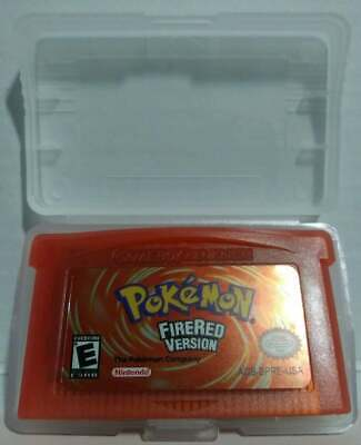 Pokemon FireRed Version GBC/GBA/GBA-SP/DS Fast Shipping from USA Nostalgia/Retro