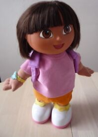Large singing and learning DORA doll