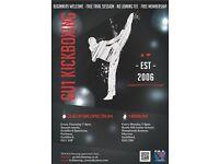 GU1 Kickboxing classes - beginners welcome!
