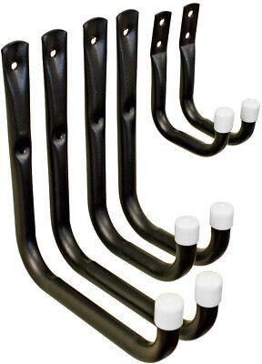 Tool Hanger Kit (Tool Holder Wall Mount U Hook Hanger Kit Metal Rack Garage Ladder Shed Storage)