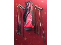 Dunlop Left Handed Golf Clubs And Bag