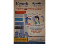 Spanish group lessons in Chaddesden, Derby- Language for fun