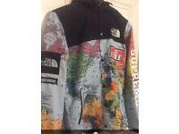 North Face supreme jacket
