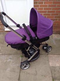 Obaby Chase 3 wheeler pramette (purple)